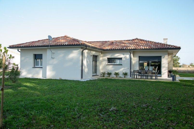 Maison moderne de plain-pied construite à Caussade – 132 m² ...