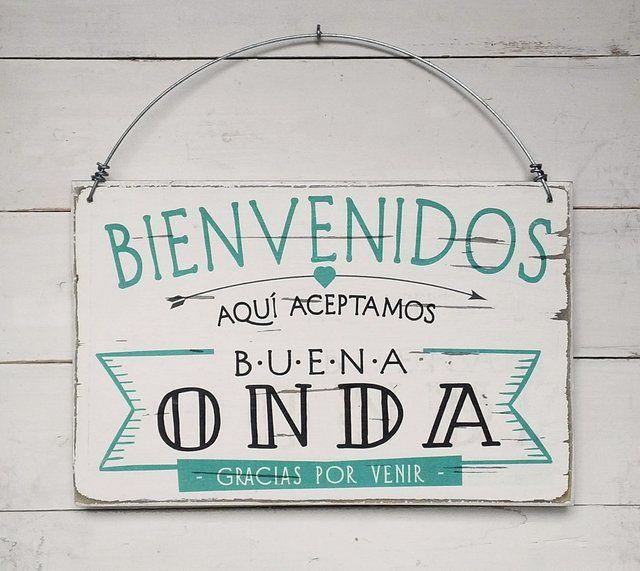 Carteles estilo vintage realizados con madera recuperada for Diseno hogar online