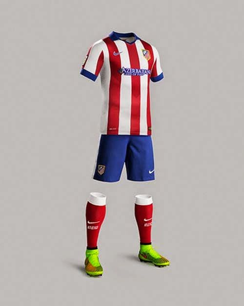 a74b30d9f Nike Released 2014/15 Atletico De Madrid Home kit | Nike Released ...