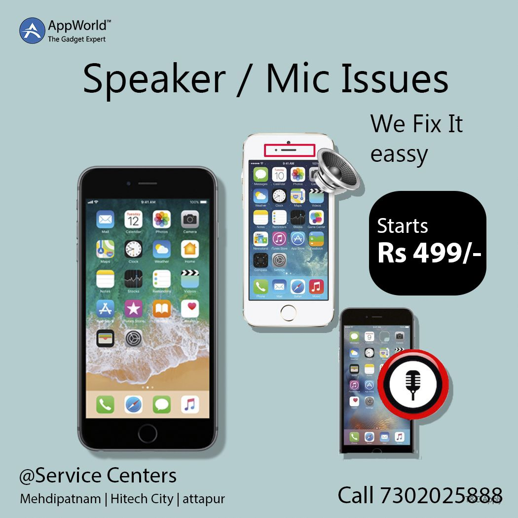 Book a Repair AppWorld™ in 2020 Mobile speaker, Repair