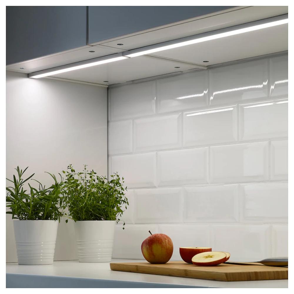 Omlopp Arbeitsbeleuchtung Led Aluminiumfarben Ikea Deutschland Unterschrank Beleuchtung Led Arbeitsplatzbeleuchtung