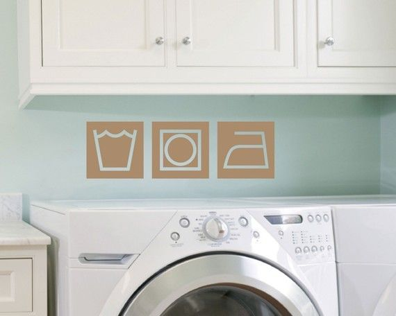 6x Prachtige Bijkeukens : Retro style laundry panels viny wall decal by tweetheartwallart