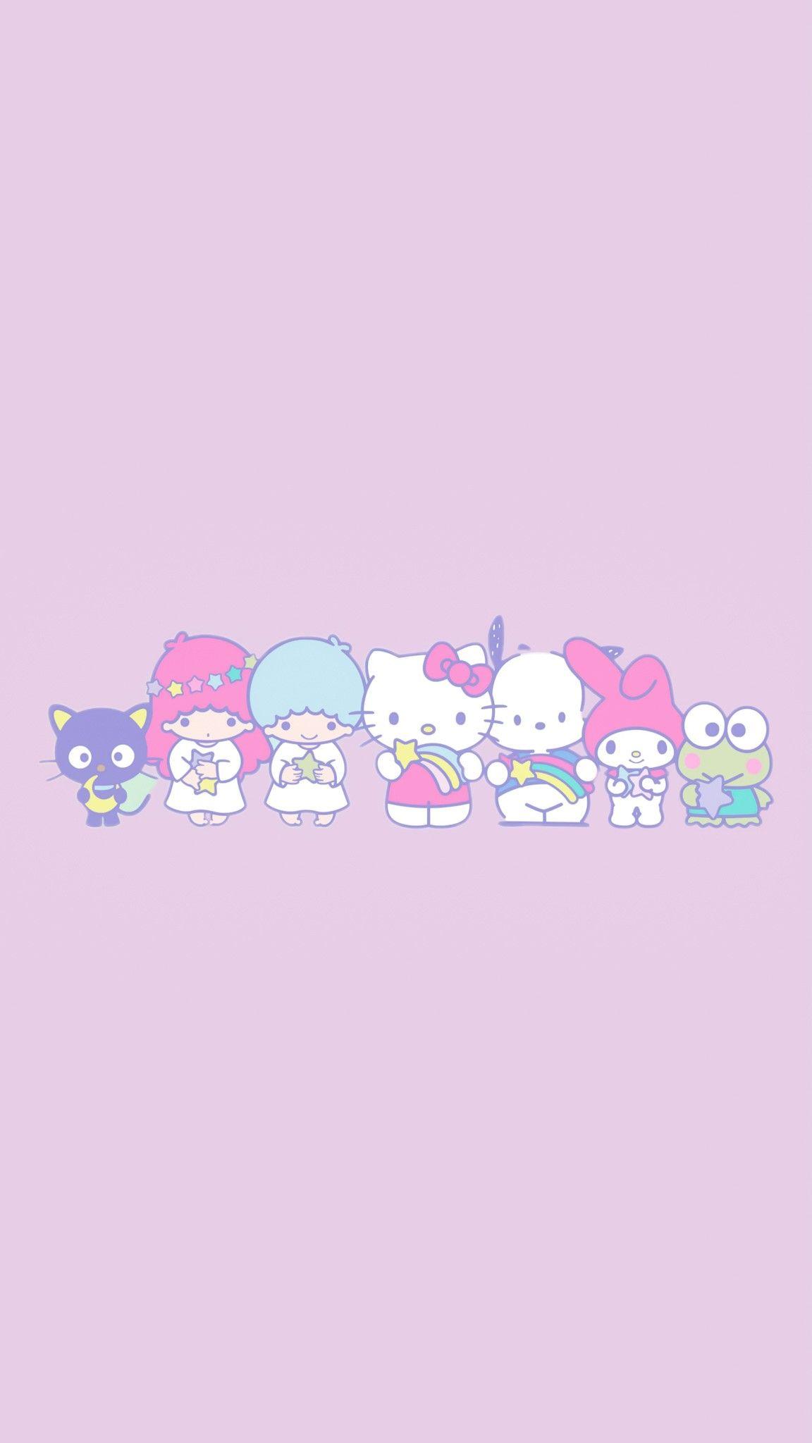 Pin By Aekkalisa On Sanrio Bg Kitty Wallpaper Hello Kitty Wallpaper Cute Wallpapers