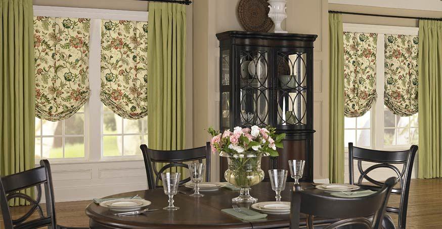 Dining Room Black Satin Mini Blinds 3 Day Blinds Custom Window Shade Custom Drapery Panels Black Dining Room