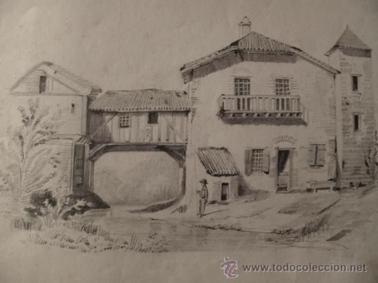 Dibujos De Paisajes Rurales A Lapiz Imagui Drawings Painting Art