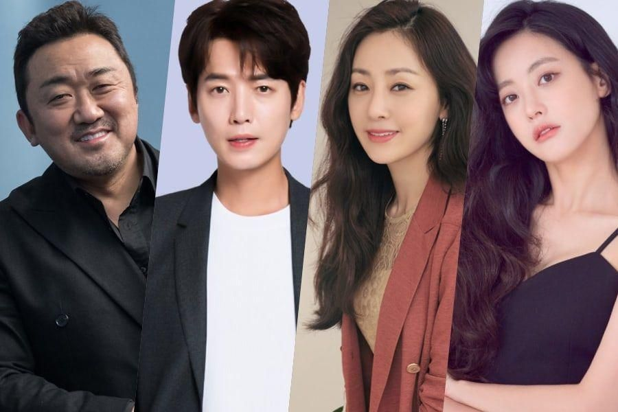 Ma Dong Seok, Jung Kyung Ho, Oh Na Ra, and Oh Yeon Seo Cast In New Film