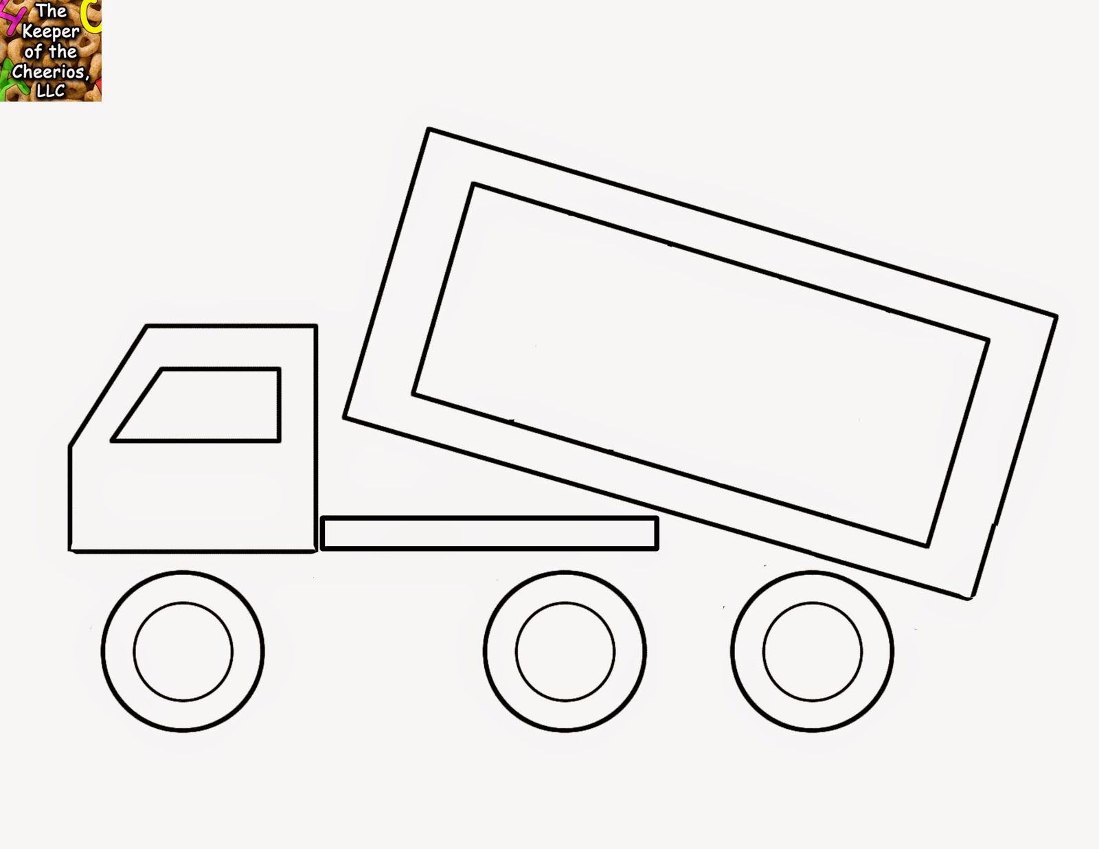 Dump Truck Shape Matching Identification Craft