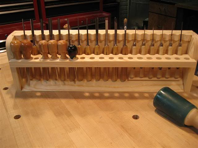 Carving gouge storage google search woodworking