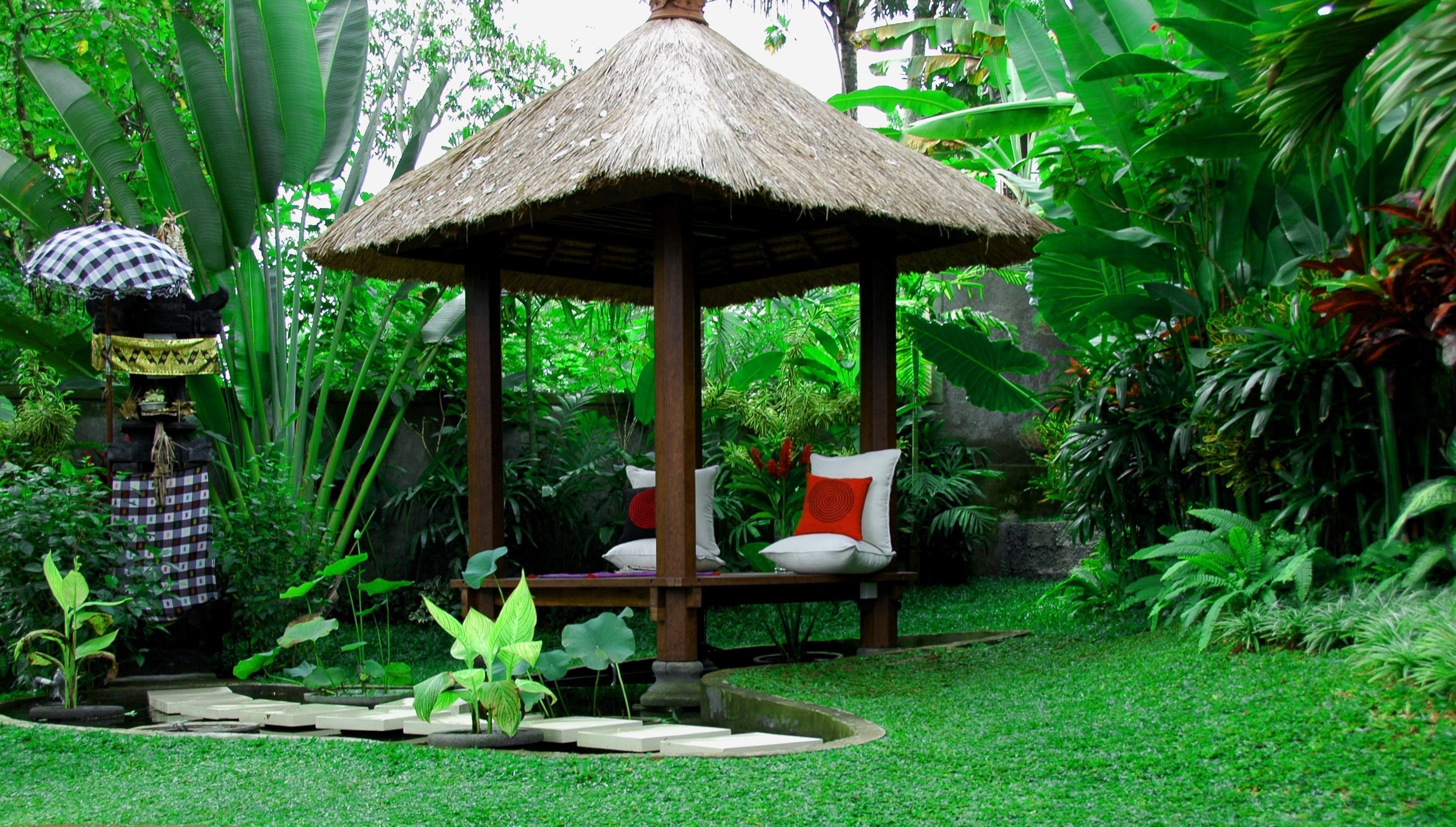 Balinese garden can serve as an additional choice to create natural ...