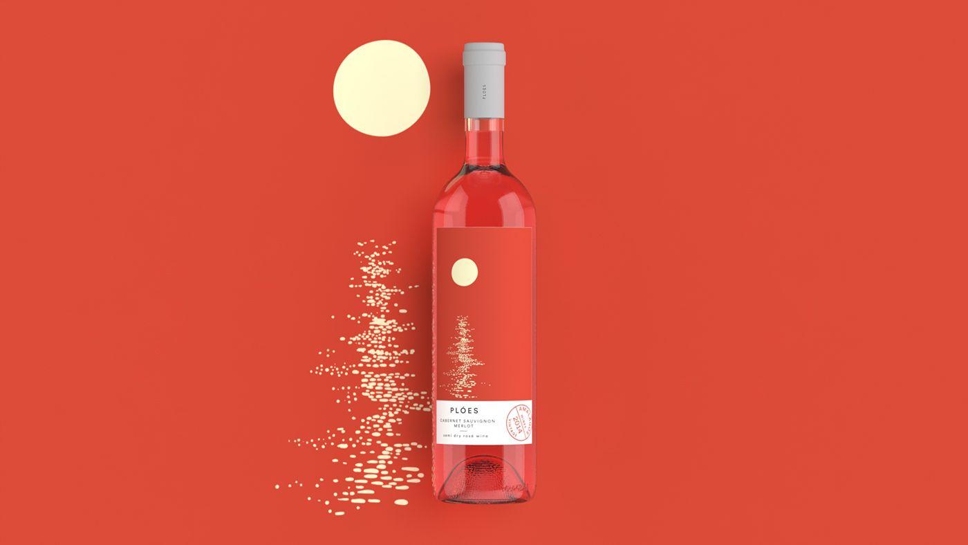 Ploes On Behance Wine Packaging Design Wine Packaging Creative Wine Label