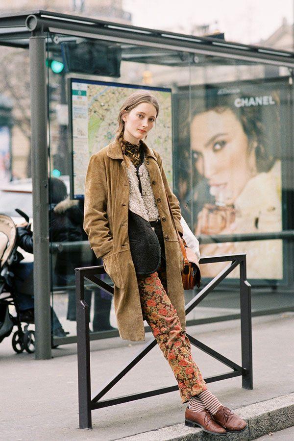 Model and photographer Iekeliene Stange, Paris, March 2012.