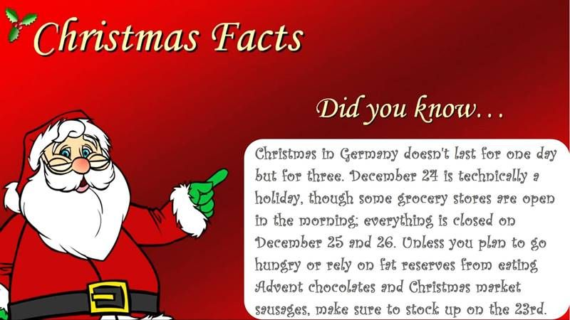 interesting christmas facts from around the world fun