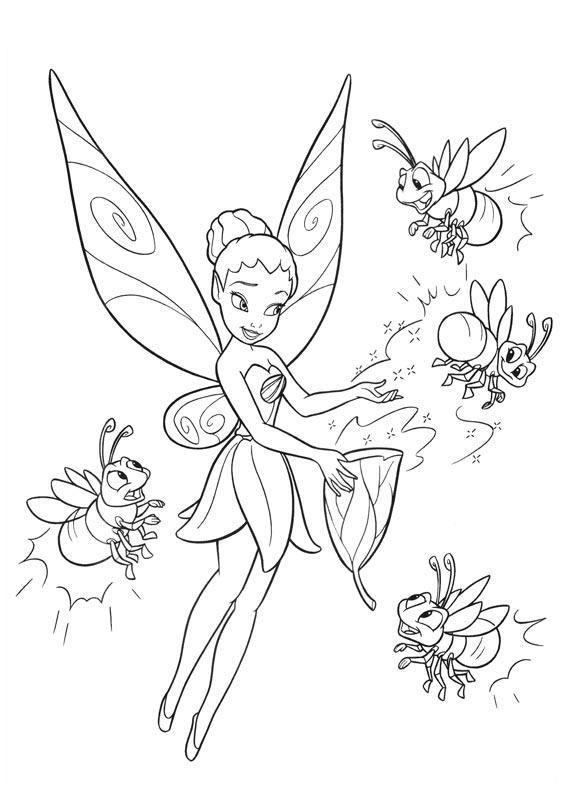 Desenhos Da Sininho Para Colorir Disney Pintar E Colorir