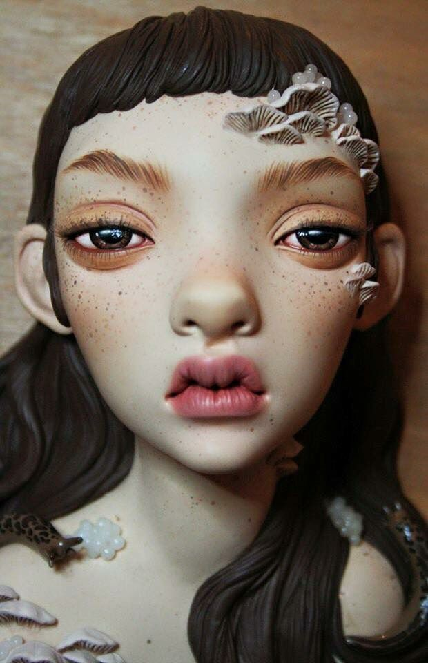 Totally loving the gorgeous sculptures of Octoplum! Xo
