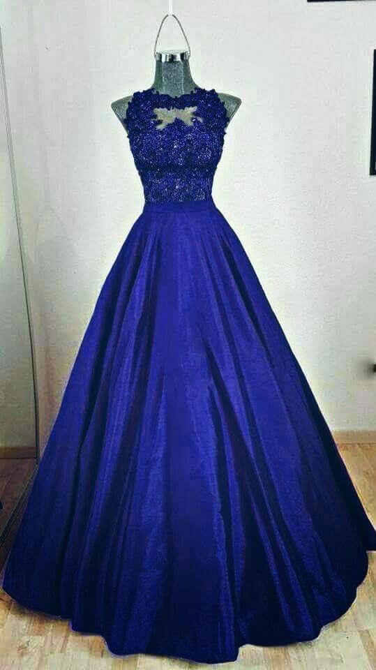Pin de Nohemi Vidales en Fiestas | Pinterest | Vestidos azules ...