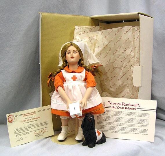 Norman Rockwell Vintage Doll 1970\u2019s