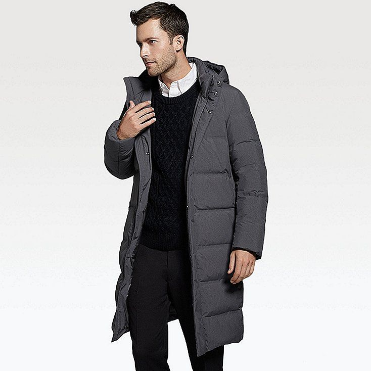 Manteau doudoune sans couture homme uniqlo