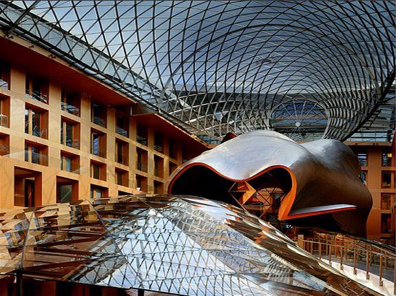 Dz Bank European Architecture Gehry Berlin