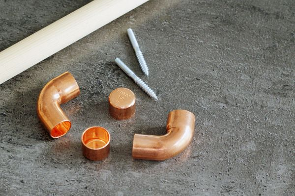 Wall hooks made from copper pipes  Bambula: DIY | kupariset seinäkoukut