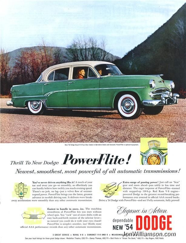 Dodge - 19540313 Post | Website, Cars and Auto picture