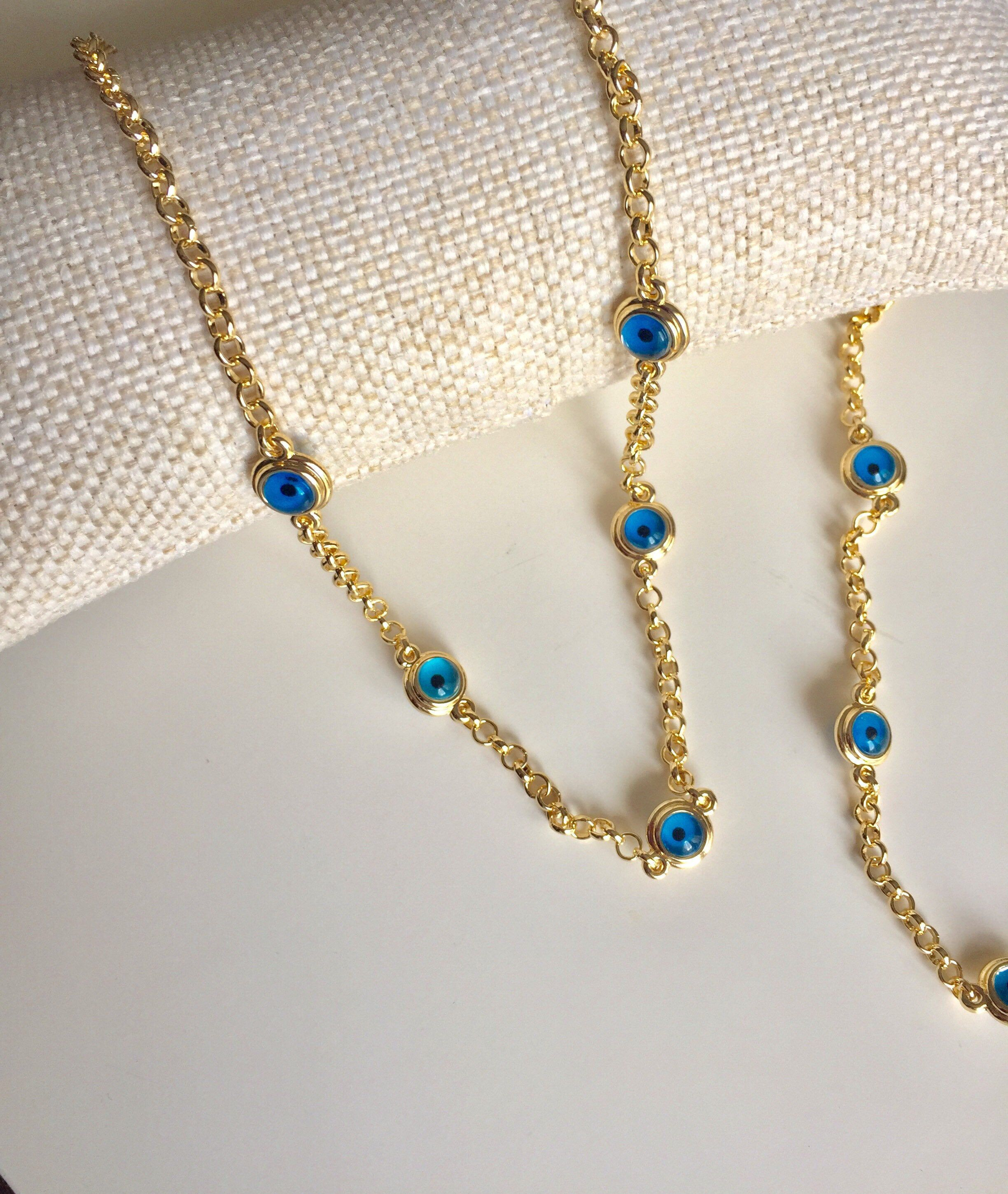 Pin On Evil Eye Necklaces