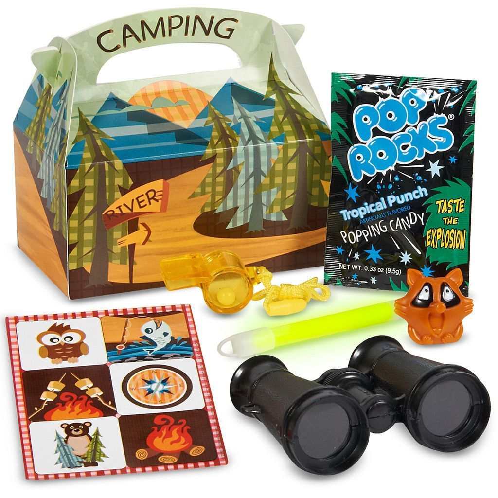 let u0027s go camping party favor box camping party favors favors