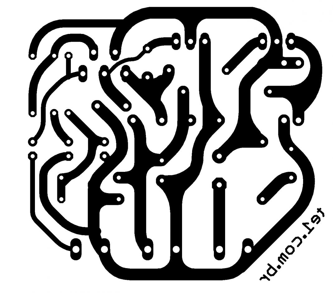 Amplificador Tda Transistor Tip4 Tip42 700x617 Amplificador Potencia Tda Transistores