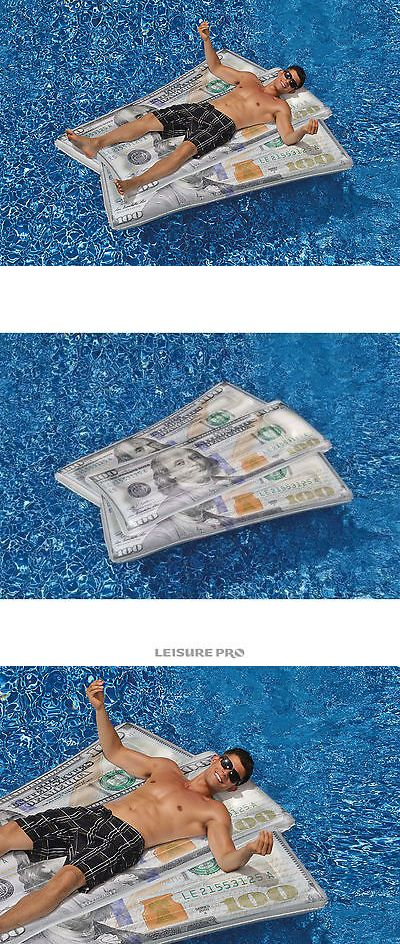 Inflatable Floats and Tubes Swimline Ben Franklin Money Mat