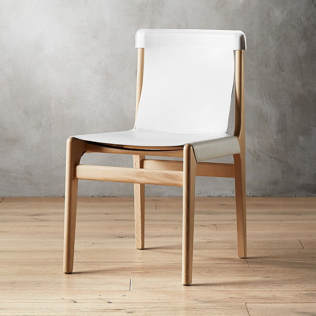 Burano white leather sling chair reviews black dining