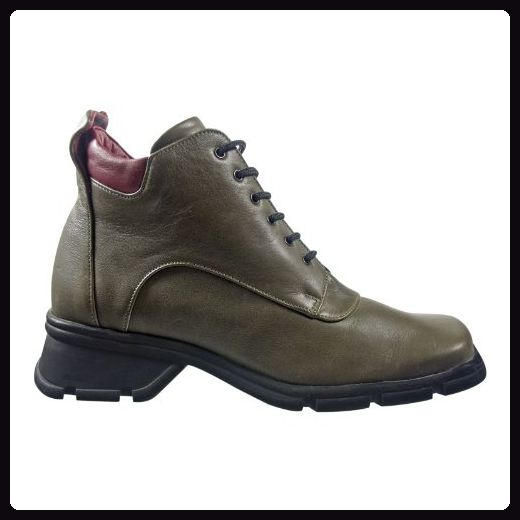 Salamander 30020 163 Damen Schuhe Outdoor Leder Stiefel grün