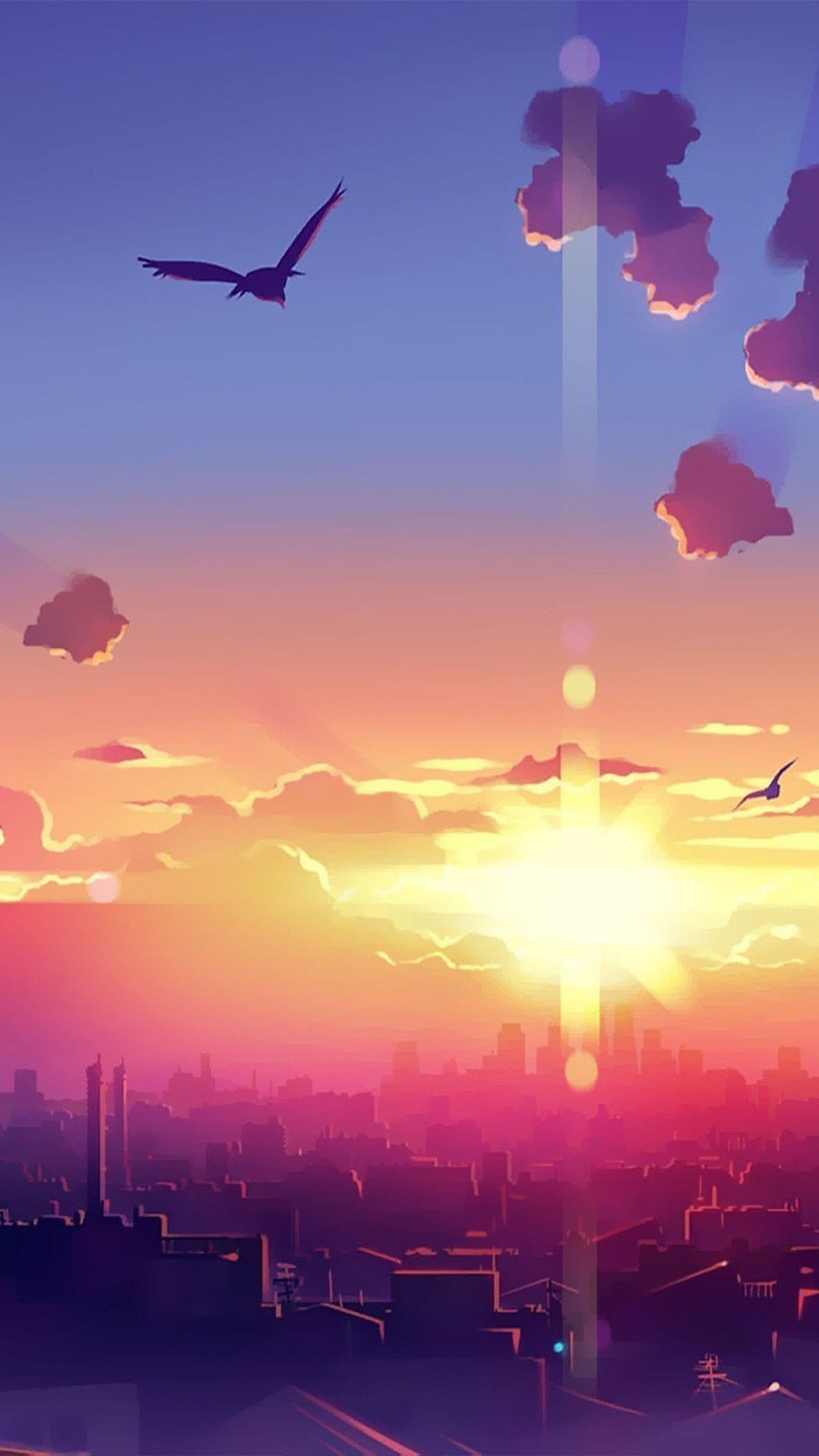Best wallpapers sunrise wallpapers phone wallpapers in - Anime phone wallpaper hd ...