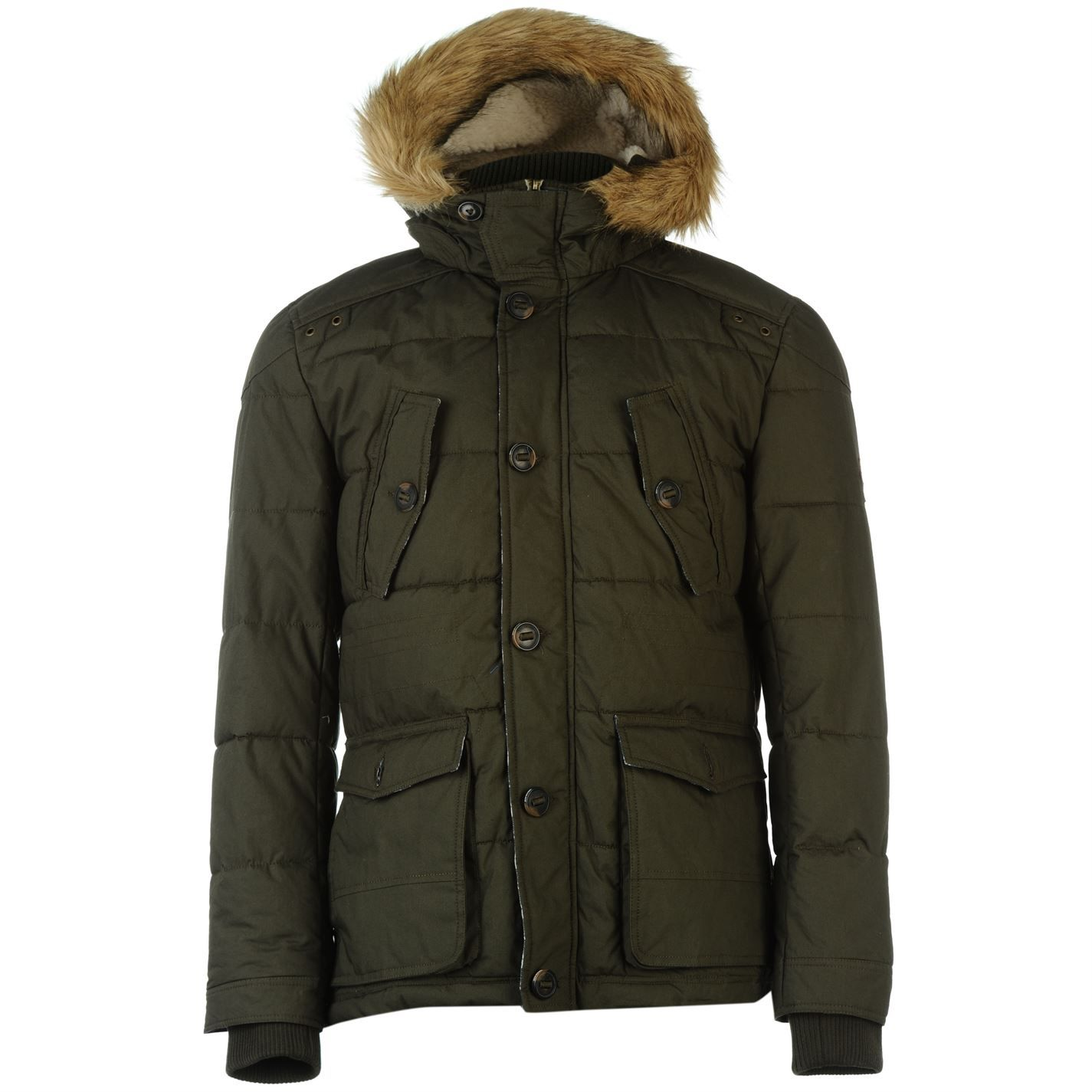 SoulCal | SoulCal Bubble Mens Parka Coat | Parka coats | New look ...