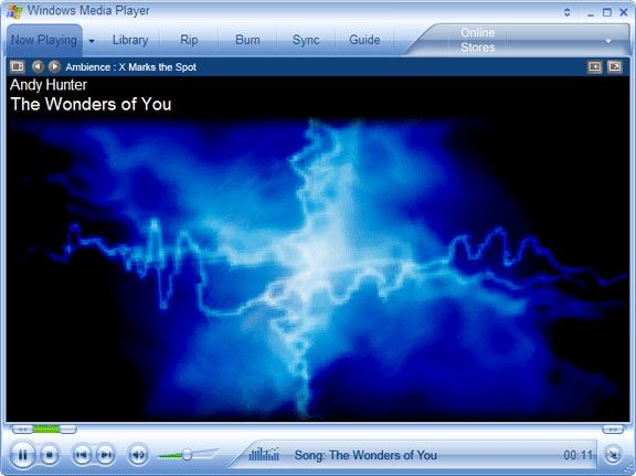 Windows Media Player visualization | music visualizations | Music