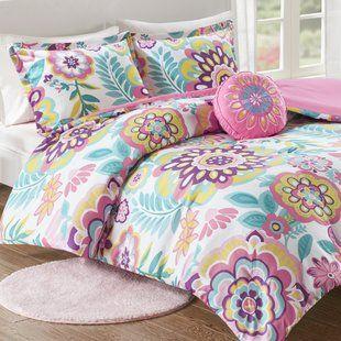 Mint Pink Gold Bedding Twin Wayfair Kids Comforter