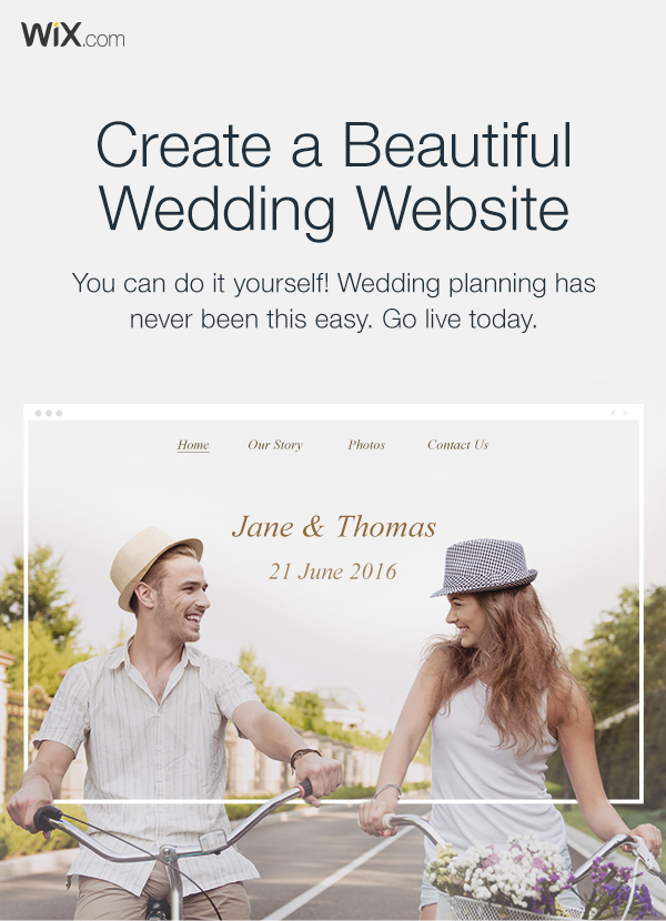 Get Your Guests Excited With A Stunning Wedding Website Create Yours Today It S Easy