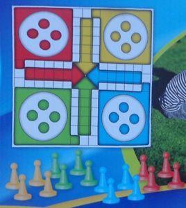 Grafix Giant Ludo Garden Game Outdoor Or Indoor Family Fun New