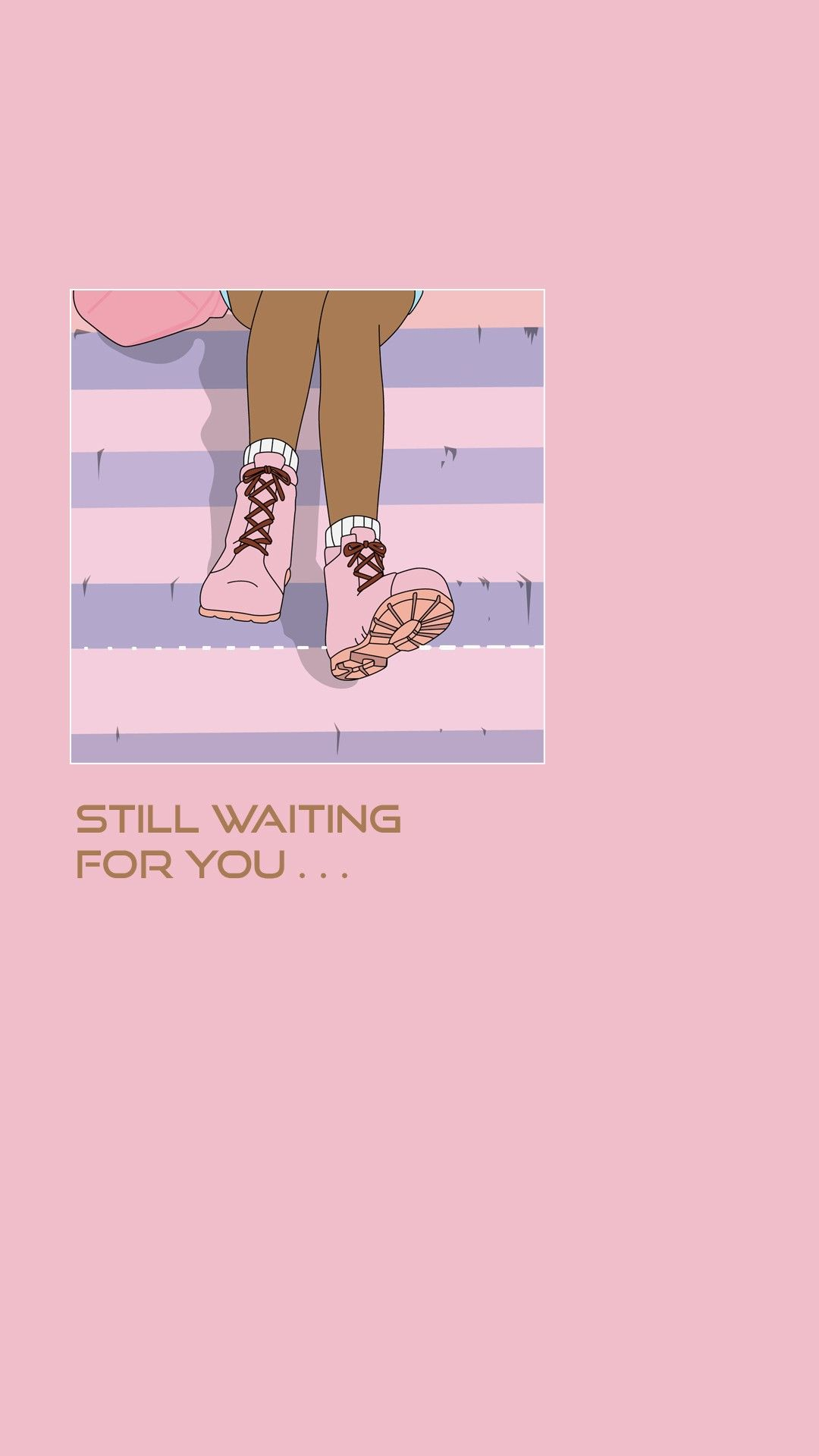Still Waiting For You Quote Anime Manga Lifestyle Cute