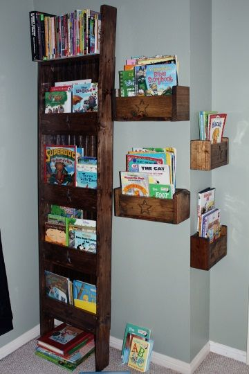 Book or magazine ladder shelf do it yourself home projects from book or magazine ladder shelf do it yourself home projects from ana white solutioingenieria Images