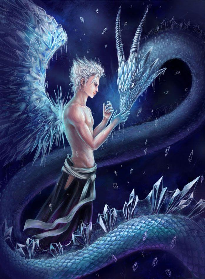 anime ice dragons Ice dragon. Hitsugaya Toushiro by