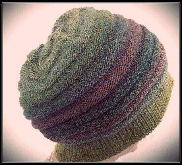 Chemo slouch cap - free knitting pattern on Ravelry, rated ...