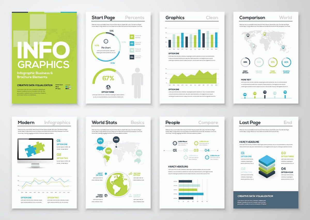 free infographic template