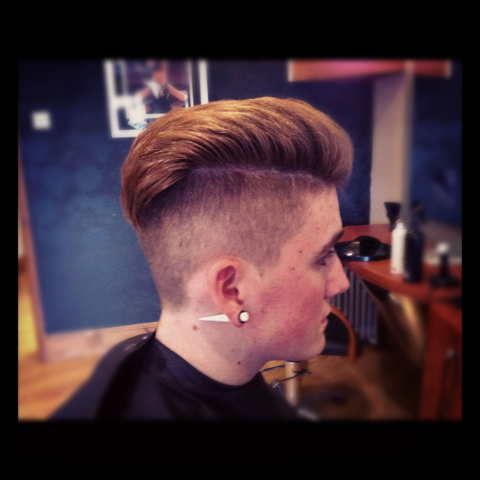 Retro UnderCut RockerBilly Say I Wont Pinterest Undercut - Mens hairstyle undercut 2012