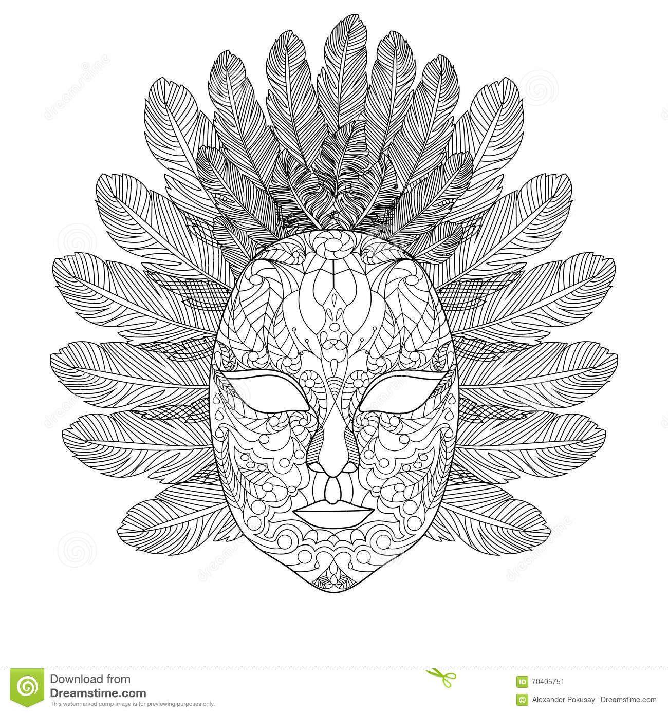 Pin Van Barbara Op Coloring Mask