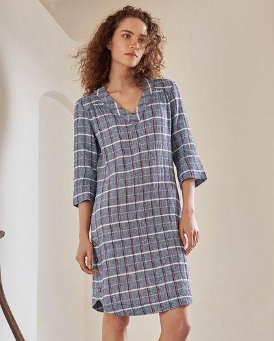 6177caeeee Poetry - Crinkled linen cotton dress - A lightweight summer dress in  textured