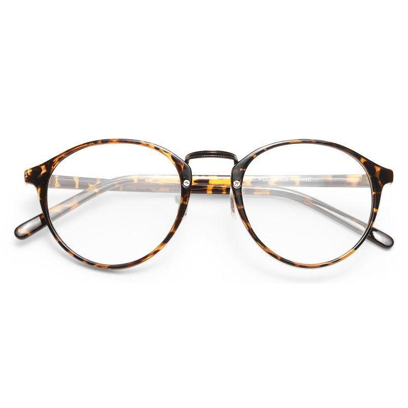 Diane Thin Round Clear Glasses   Glasses   Pinterest   Rounding ... 277823967035