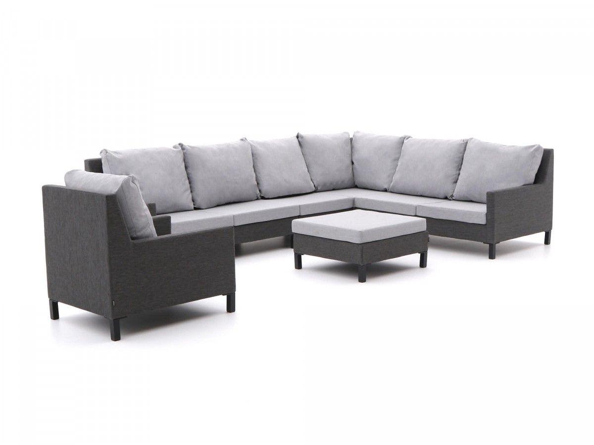Grote loungeset voor in de tuin van outdoor textiel loungeset ☀