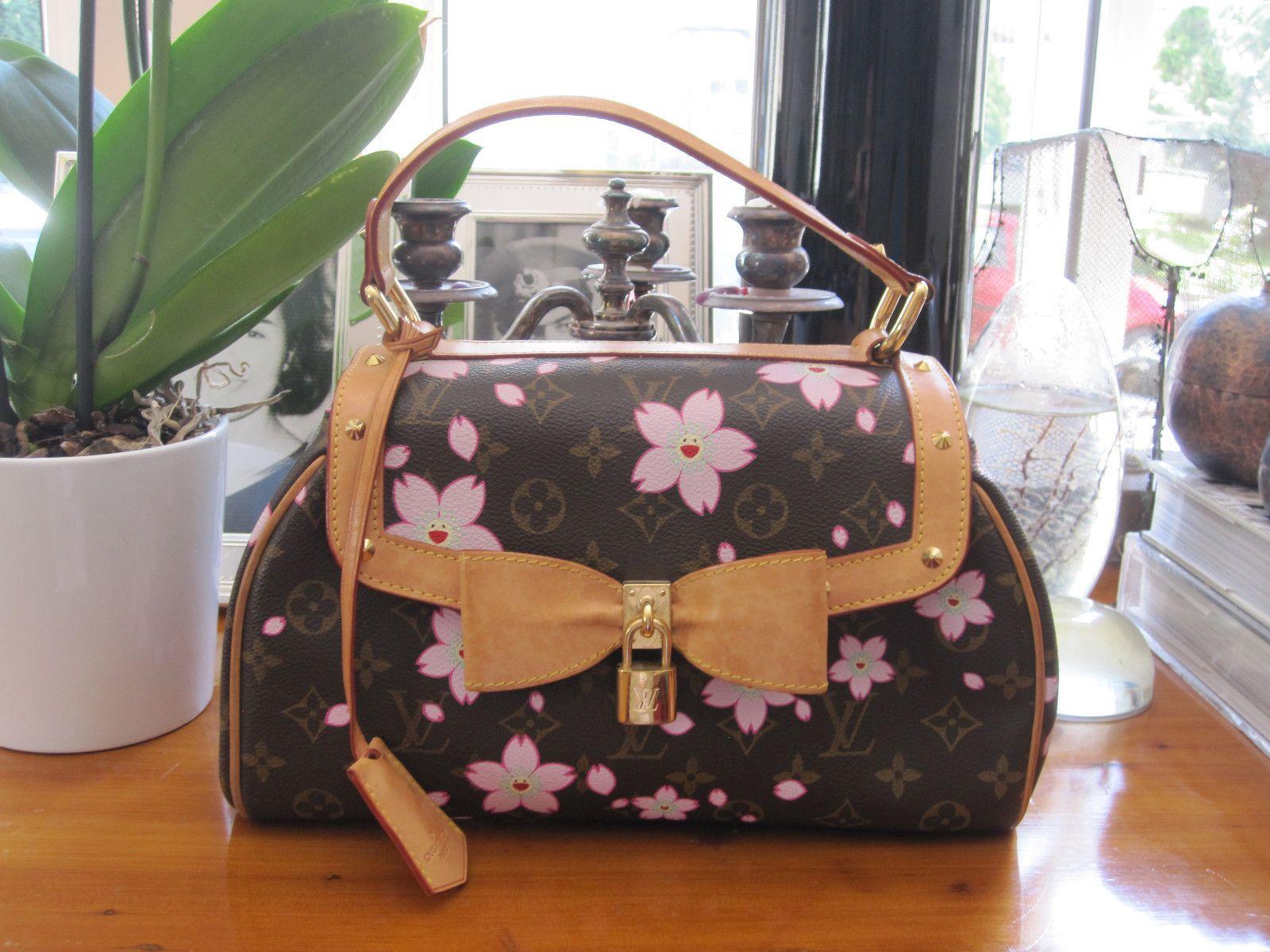 5c5bebf21c4e Louis Vuitton Cherry Blossom Celebrity Favorite Collector s Murakami Bag