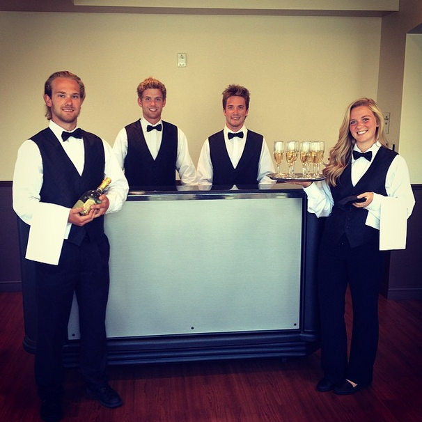 Let our bartending team cater to your every need at your next event! #catering #bartending #minnesota