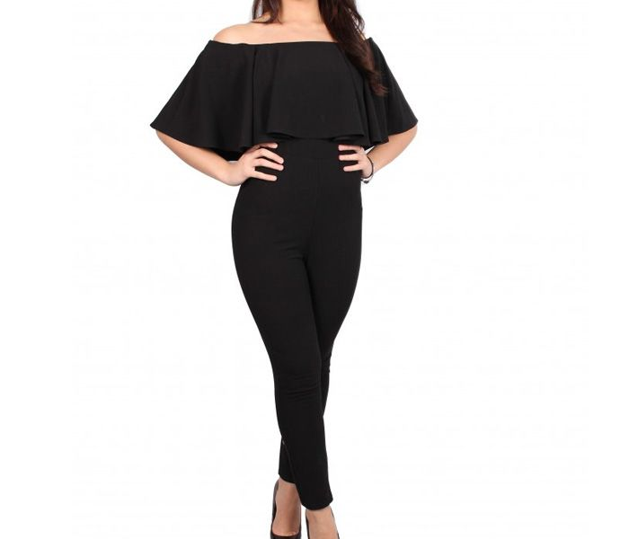 You Looking Are In Black Off Shoulder Jumpsuit Place Bulk Order Or Notify Via Mail From One Of Off Shoulder Jumpsuit Black Off Shoulder Clothing Manufacturer