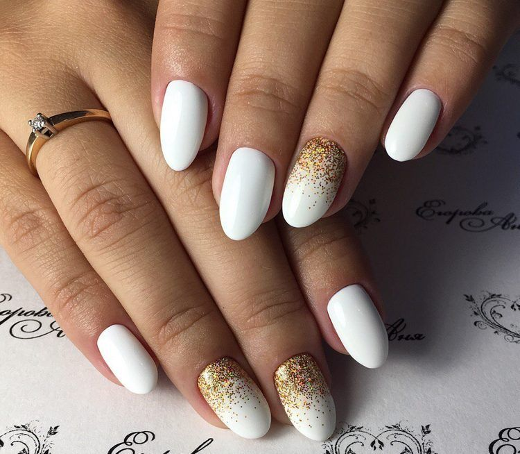 Nails In White Gel A Range Of Ideas To Adopt A Very Chic Winter
